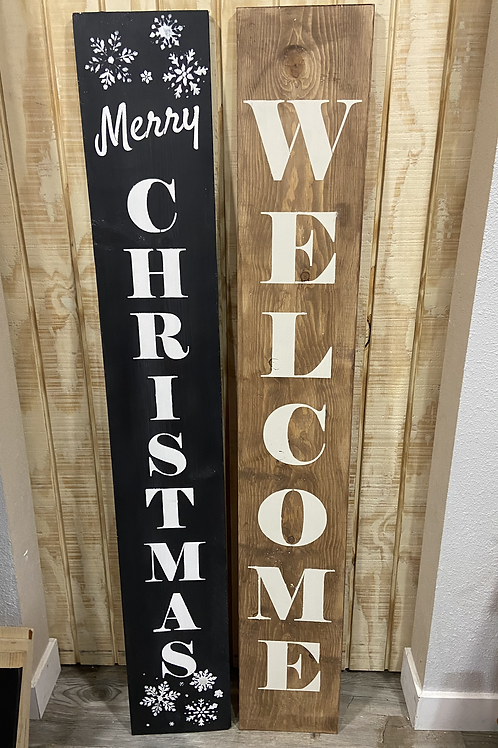 Double Sided Porch Signs