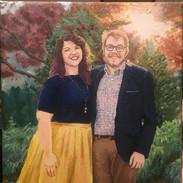 Wedding portrait, Emma and Blake