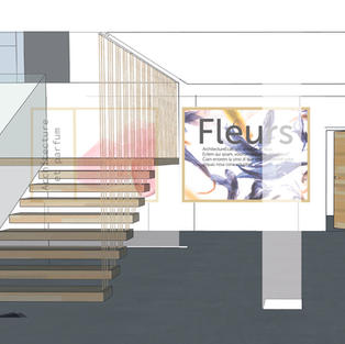 Sicaf-projet hall d'accueil
