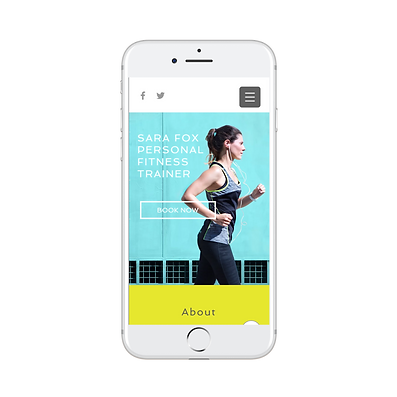 Mobile Responsive Website For Personal T