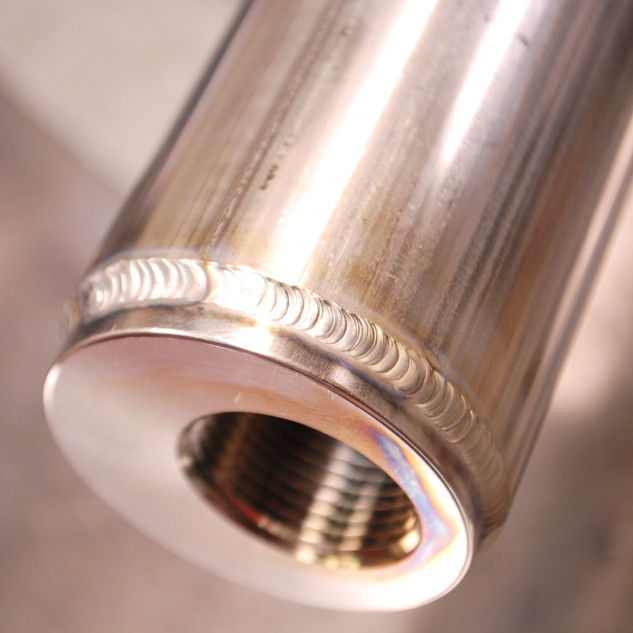 stainless tube welding