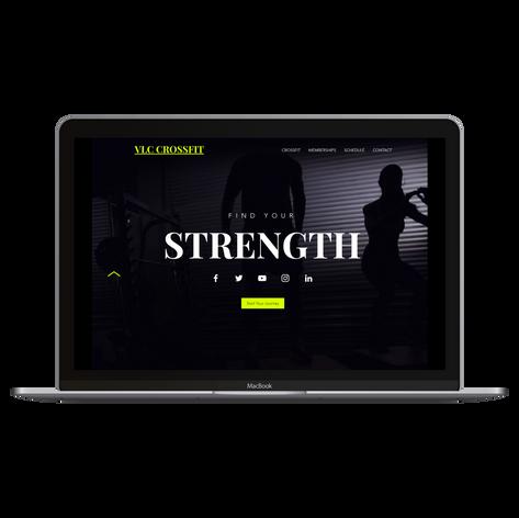 Website for CrossFit Gym
