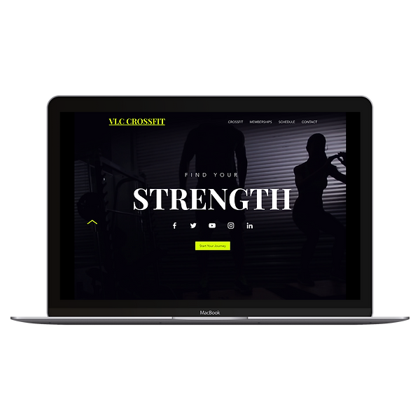CrossFit Web Design