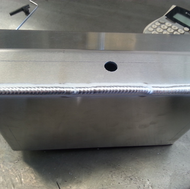 aluminum tank