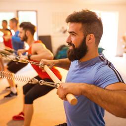 Reformer Men's Class at Pilateszone