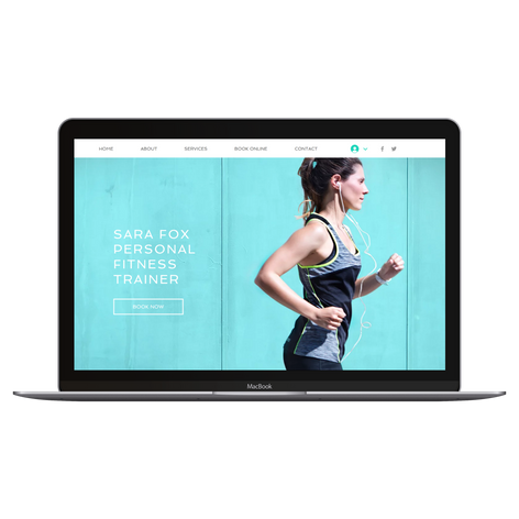 Website for Personal Trainer