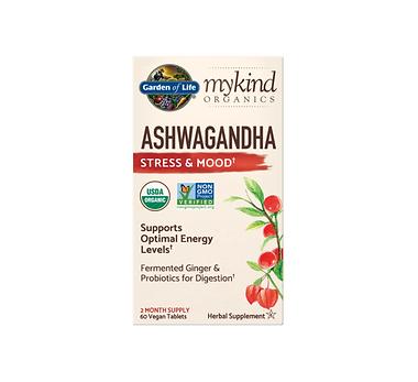 mykind Organics Ashwagandha Stress & Mood