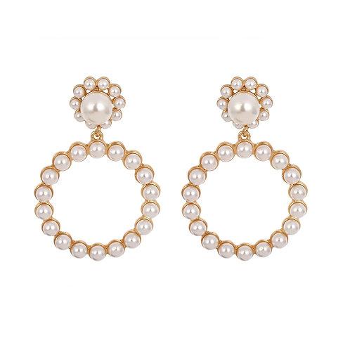 Paris Pearl Earrings