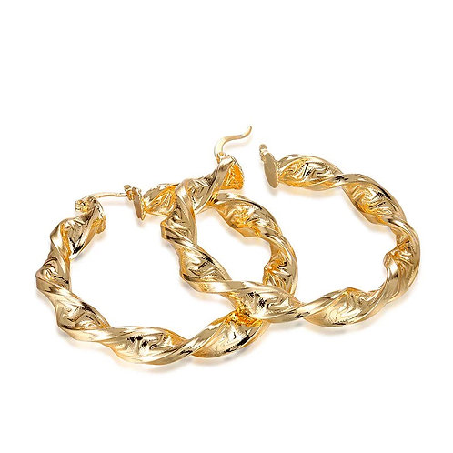 Jada Twist Hoops