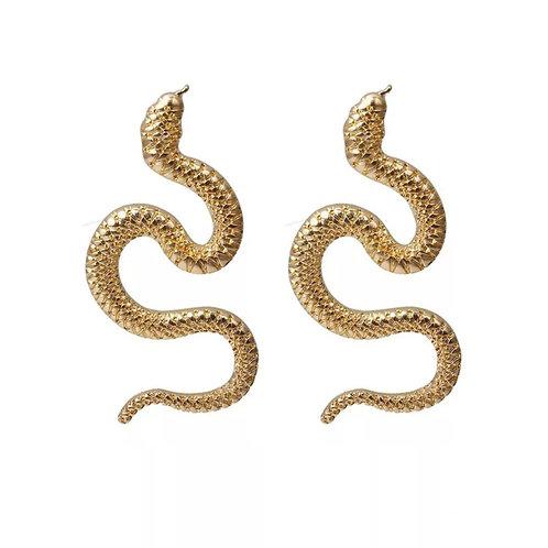 Medusa Snake Earrings