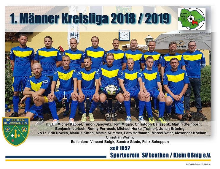1. Mannschaft SV Leuthen