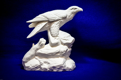 """Eagle on Rock  10"""" H  -  Ordered piece May Not be in stock"""