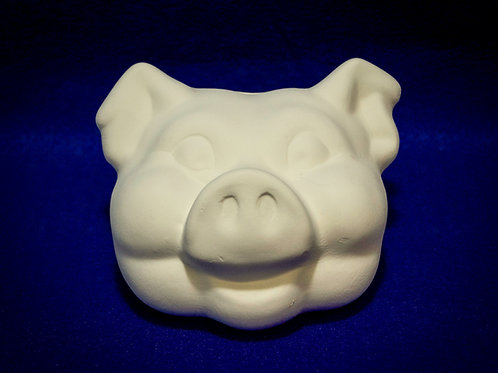 Pig Head Bank or Glasses Holder