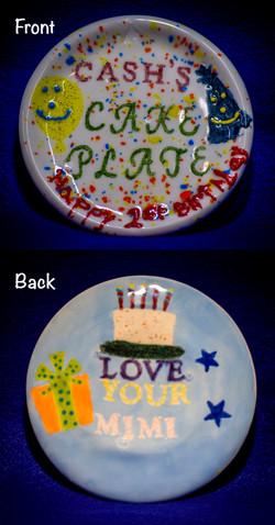 Cash's B. Plate