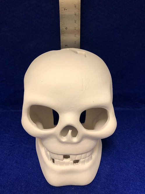 Skull Light (Comes with Tea light)  Ordered piece May not be in stock