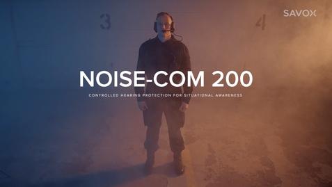 Mainosvideo: Savox Noise-COM 200