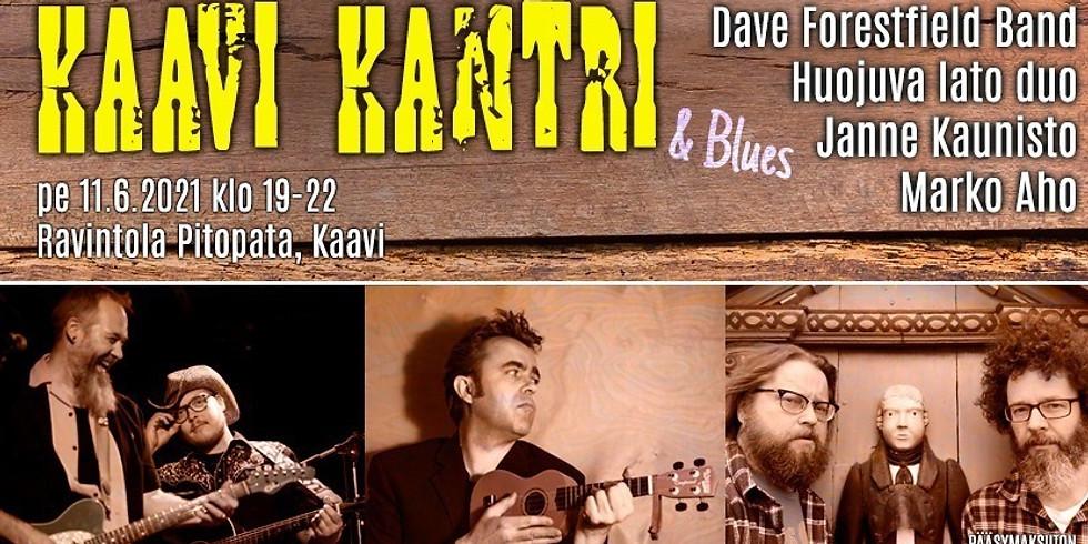 Kaavi Kantri & Blues konsertti