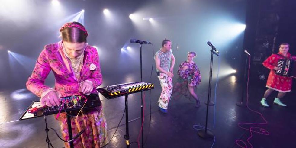 Suistamon sähkön konsertti Maarianvaarassa (15 eur)