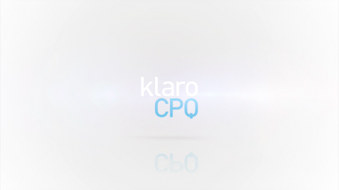 Mainosvideo: KlaroCPQ