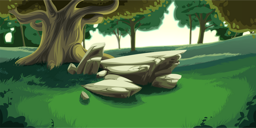 Forest Clearing Background