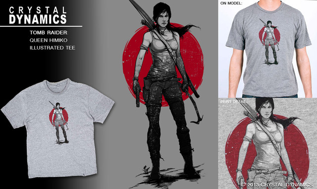 Tee design for Tomb Raider