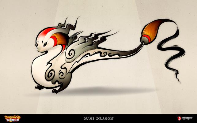 Sumi Dragon