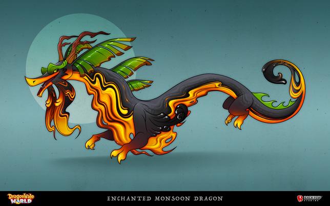 Enchanted Monsoon Dragon