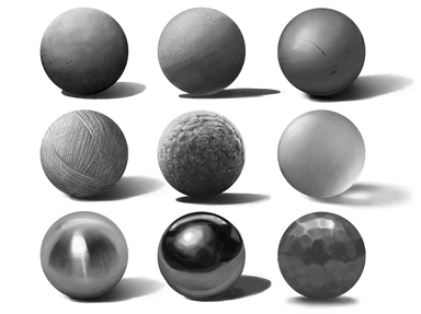 Sphere Material Study