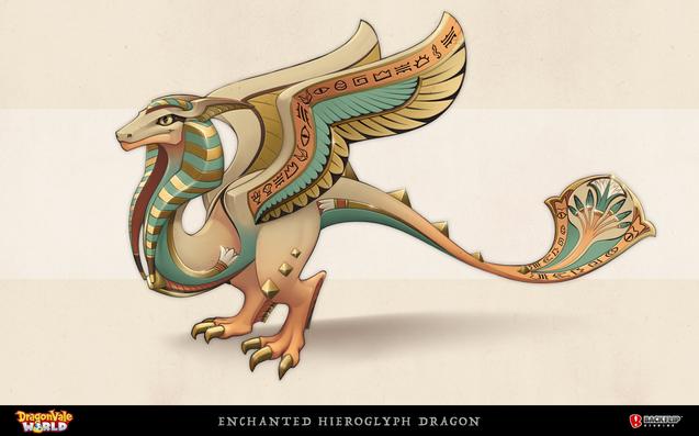 Enchanted Hieroglyph Dragon