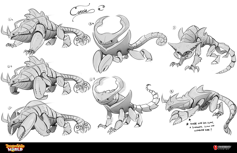 Cancia Dragon Concepts
