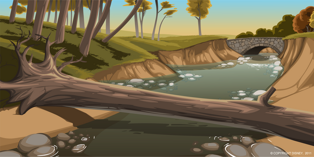 Creek Background