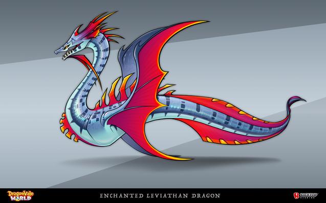 Enchanted Leviathan Dragon
