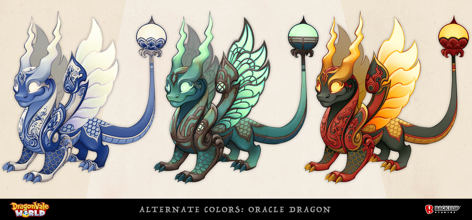 Alternate Colors for the Oracle Dragon
