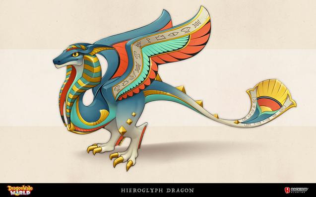 Hieroglyph Dragon