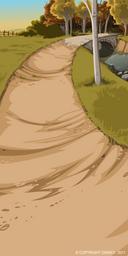 Creek Path Background