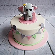 Ellie-phant's First Birthday