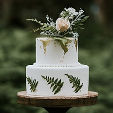 Woodland Reverie wedding cake