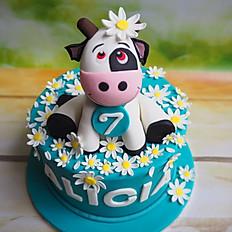 """Alicia's """"Daisy"""" cake"""