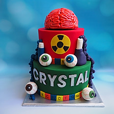 Crystal's Mad Science cake