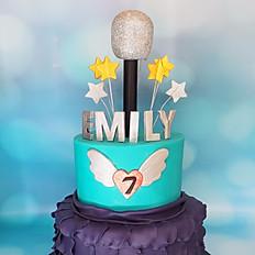 Rockstar Princess Cake
