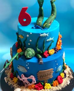 Spear Fishing cake
