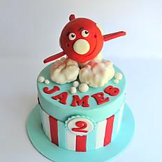 James' 2nd Birthday cake