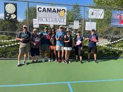 Camano 2.5 Doubles Medalists