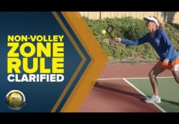 Non-Volley Zone Rules