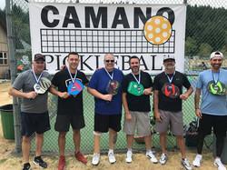 Camano 3.0 Mens Doubles Medalists