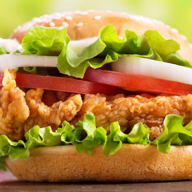 Chick-Fill-A Burger