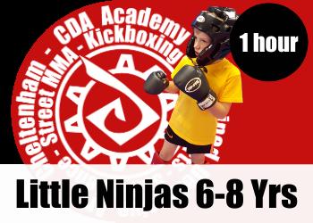 Little Ninjas, martial arts classes for 6 - 8 year old children in cheltenham