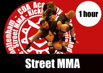 Street MMA self defence classesfr aduls in Cheltenham