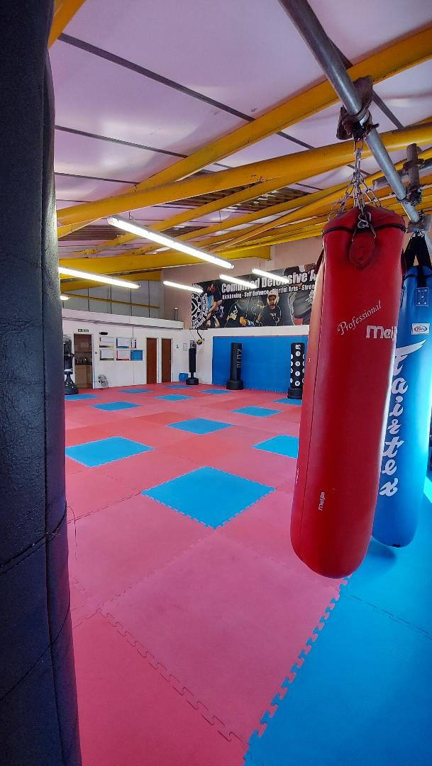 Yoga, Pilates and martial arts training space
