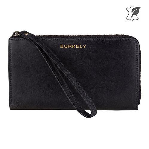 """Burkely - Portemonnaie """"Edgy Eden Wallet L"""" von Burkely - Schwarz"""